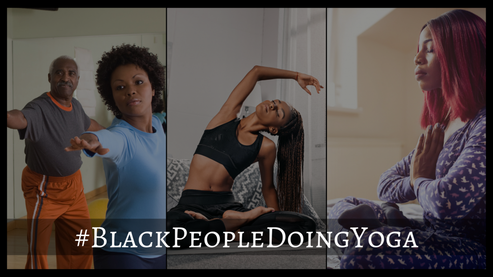 Represent Black People Doing Yoga